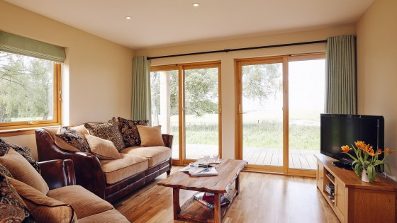 Comfort and style 5 star lodge near Inverness
