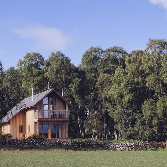5 Star Luxury Eco Lodge near Inverness,