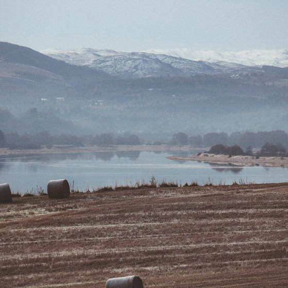 Views close to our luxury lodges near Inverness