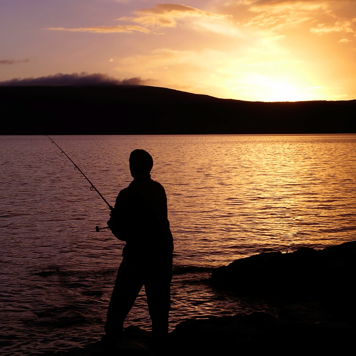 Great fishing close to our luxury lodges Scottish Highlands