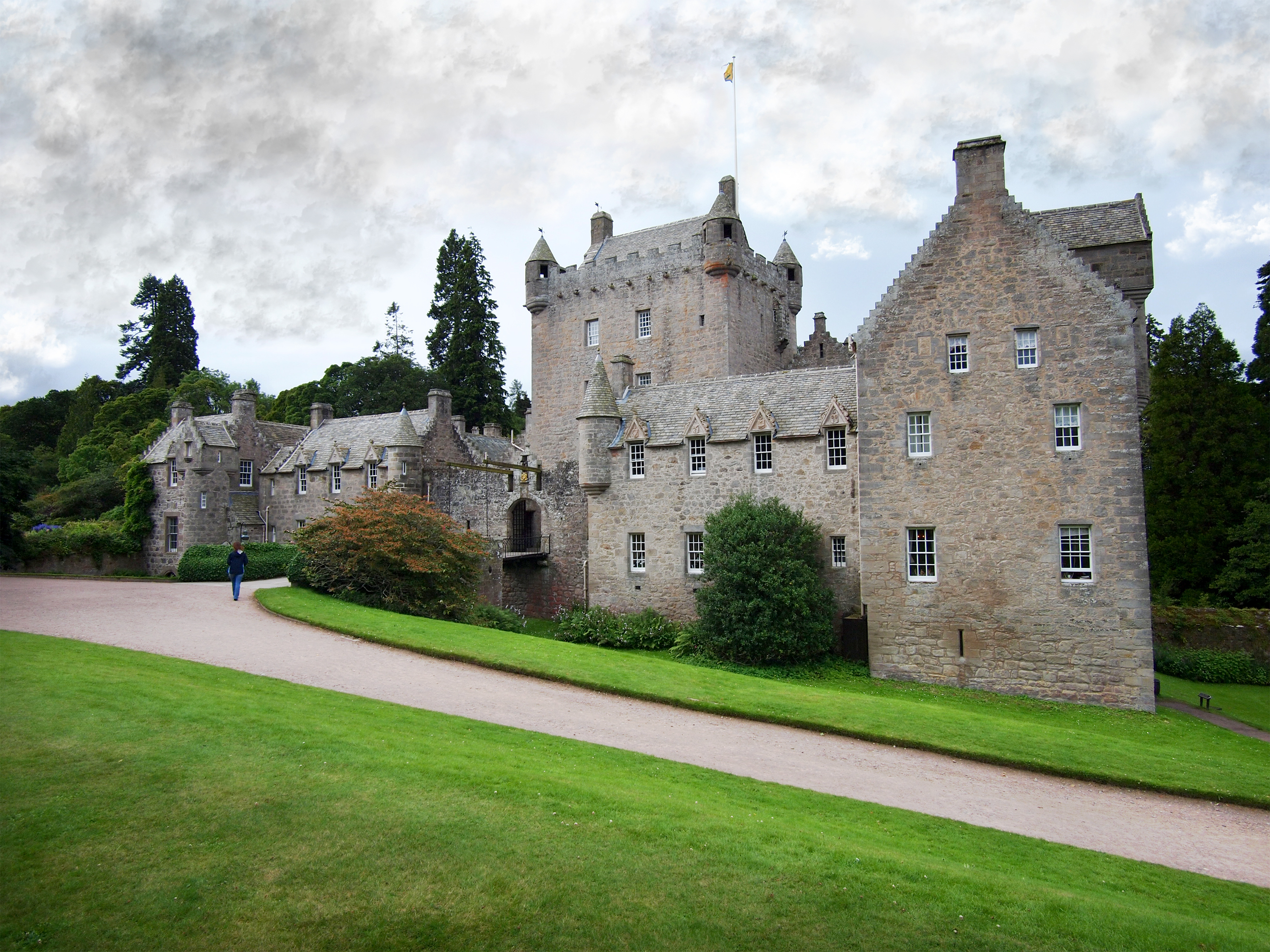 Cawdor Castle close to our Luxury Lodges