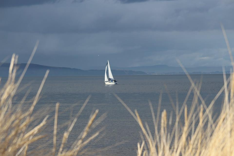 Sailing on the Moray Firth